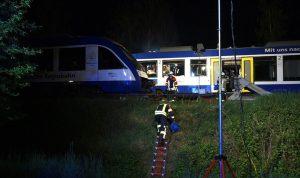 بالصور… تصادم قطارين في ألمانيا