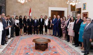 عون: افتتاح خط مباشر بين لبنان ومدريد يسهّل مجيء المنتشرين