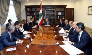 عون يدعو واشنطن الى تسهيل عودة النازحين السوريين