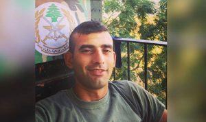 قيادة الجيش نعت المجند علي حسن مصطفى