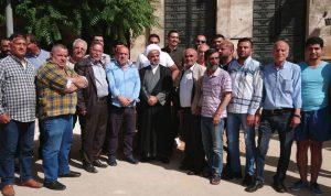اعتصام في بعلبك احتجاجا على مكان بناء مركز المحافظة