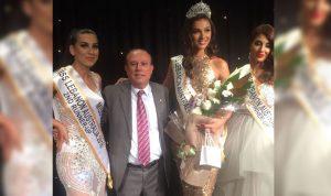 بيانكا عيد ملكة جمال لبنان المغترب في استراليا