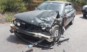 جرحى بحادث سير في كفركلا