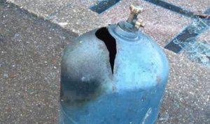 انفجار قارورة غاز داخل كافتيريا في النبطية