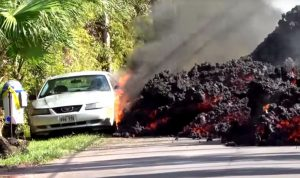 "بالصور والفيديو… ""هاواي"" تحت خطر بركان ""كيلاويا"""