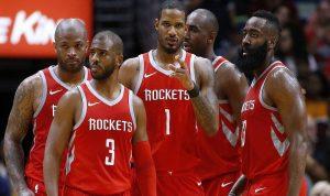 روكتس على بعد خطوة من نهائي NBA