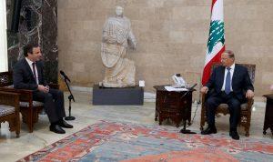 معوض يسمّي الحريري لرئاسة الحكومة: تجمعنا مبادئ ونضال مشترك