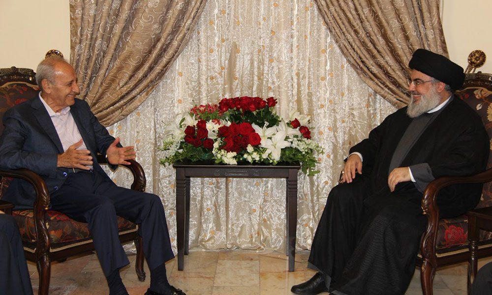 لقاءٌ بين نصرالله وبري: لتشكيل سريع لحكومة وحدة وطنية