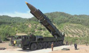 كوريا الشمالية تطلق صاروخا باليستيا باتجاه البحر الشرقي