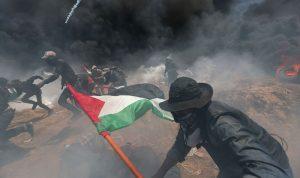 قتيلان و242 جريحًا في شرق غزة