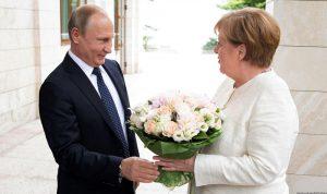 ميركل وبوتين سيبحثان قضايا سوريا وأوكرانيا والطاقة