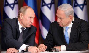 نتنياهو لبوتين: سنواصل العمل ضد إيران في سوريا
