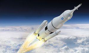 اليابان بصدد تصميم صاروخ فضائي متعدد الاستخدامات