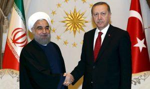 روحاني لأردوغان: يجب التصدي لإرهاب إسرائيل