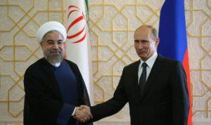 بوتين معزياً روحاني: مستعدون لتعزيز التعاون لمكافحة الارهاب