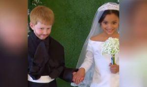 بالفيديو… العرس الملكي بنسخة مصغرة!