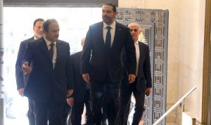 الكشف عن تصوّر الحريري الحكومي