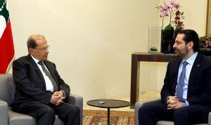 الحريري من بعبدا: نتمنى تشكيل الحكومة سريعا