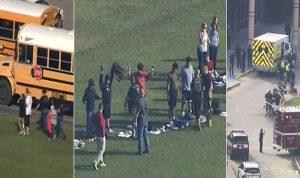 بالصور والفيديو.. مجزرة في مدرسة أميركية