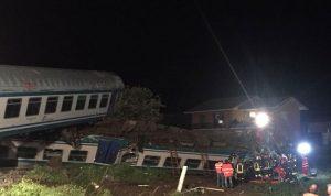قتلى وجرحى إثر خروج قطار عن سكته في ايطاليا