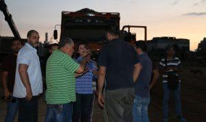بالصور… هذا ما جرى في مطمر برج حمود ليلاً!