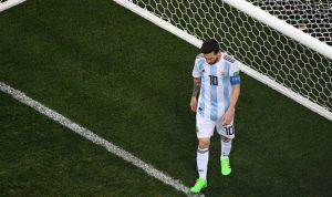 """كرواتيا تكتسح الارجنتين في """"فضيحة"""" كأس العالم 2018"""