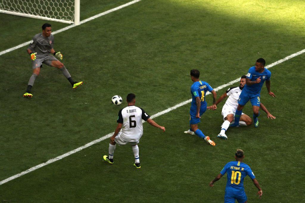 البرازيل تصوم لتسعين دقيقة وتهزم كوستاريكا بهدفين