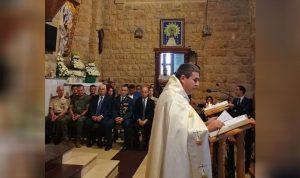 قداس في ذكرى استشهاد 6 جنود اسبان في مرجعيون