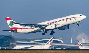 بالصورة… 4 وزراء يفتتحون خط طيران بيروت – مدريد