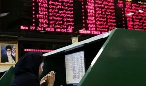 بورصة طهران تغلق على ارتفاع قياسي