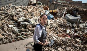 بالفيديو والصور… انجلينا جولي في الموصل