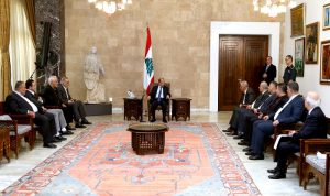 عون: الفلتان الأمني في بعلبك لن يستمر