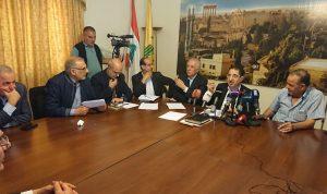 """""""تكتل بعلبك الهرمل"""": العفو العام مطلب محق لأهالي المنطقة"""