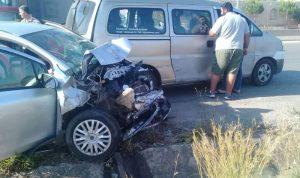 جرحى بحادث سير عند مفترق اوتوستراد البلمند