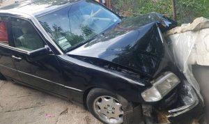 جريح إثر انزلاق سيارة على طريق شبعا