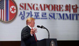 """ترامب: مناوراتنا مع كوريا الجنوبية """"ألعاب حربية"""""""