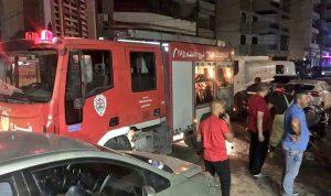 حريق في طرابلس