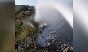 حريق في عكار