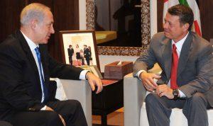 العاهل الأردني بحث مع نتنياهو التطورات الإقليمية في عمان