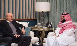 حفاوة إستقبال سعودية بجنبلاط… والعلاقة مستمرة مع تيمور