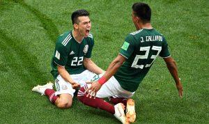 بالفيديو: هذه السيدة سبب فوز المكسيك على ألمانيا؟!