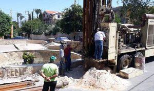 بلدية المنية تحفر بئرا إرتوازية لسد النقص في المياه