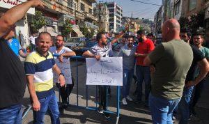 احتجاج وقطع طرق في النبطية