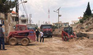 بالصور: بعد السيول الكارثية.. مسح أضرار وتحقيقات في راس بعلبك