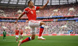 روسيا تكتسح السعودية بخماسية نظيفة في إفتتاح كأس العالم
