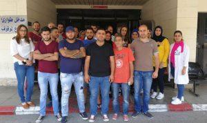 موظفو مستشفى صيدا الحكومي مستمرون في إضرابهم