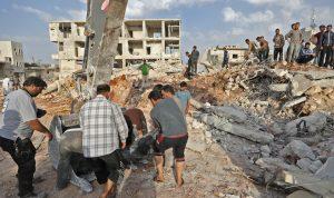 تمهيداً لهجوم.. منشورات من النظام لسكان إدلب