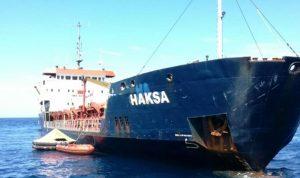 غرق سفينة شحن تركية قبالة كرواتيا