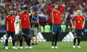 إسبانيا تنضم الى قائمة ضحايا مونديال 2018 وروسيا تتأهل!