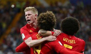 بلجيكا تنجو من الخروج بعودة مجنونة امام اليابان